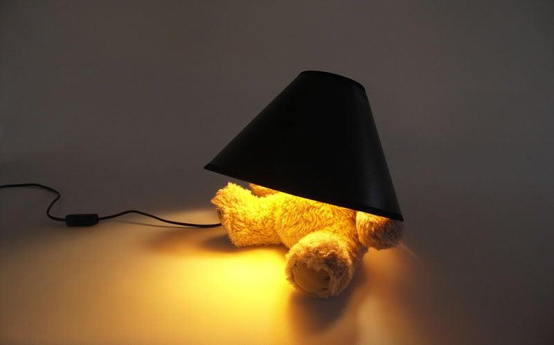 Teddy Bear Lamp The Green Head