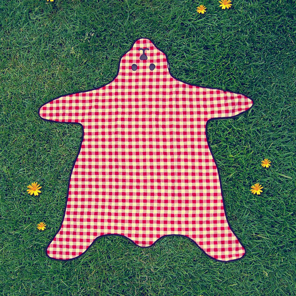 Picnic Blanket: Teddy Bear Skin Picnic Blanket