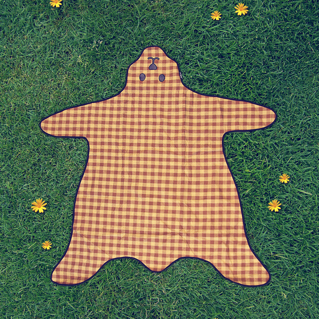 Teddy Bear Skin Picnic Blanket The Green Head