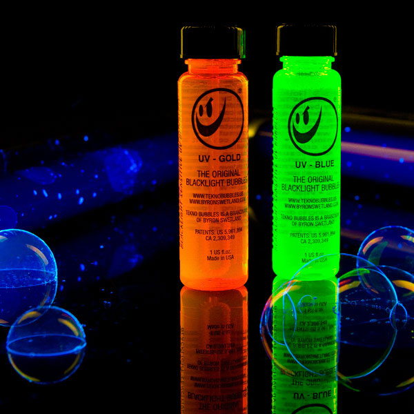 Tekno Black Light Bubbles - The Green Head