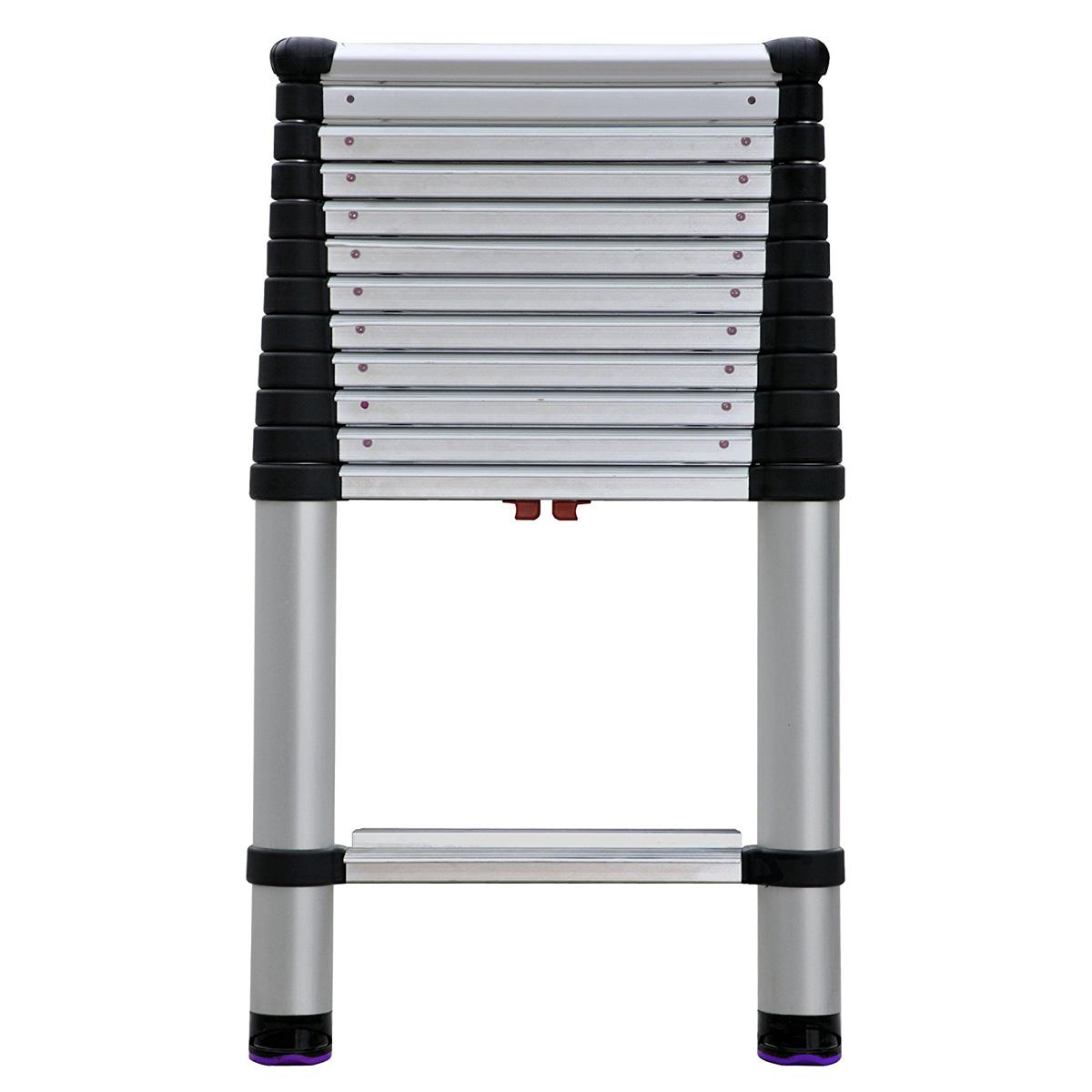 Extend Ladder 12 5 : Telesteps ep telescoping extension ladder the