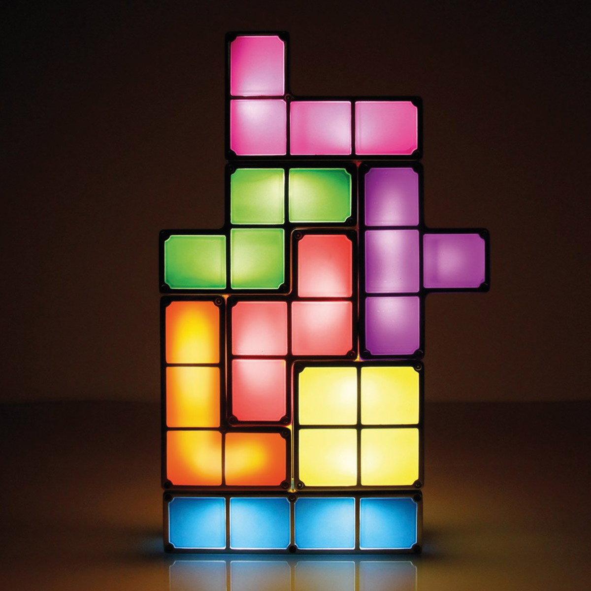 Unusual Desk Lamps Tetris Stackable Led Desk Lamp  The Green Head