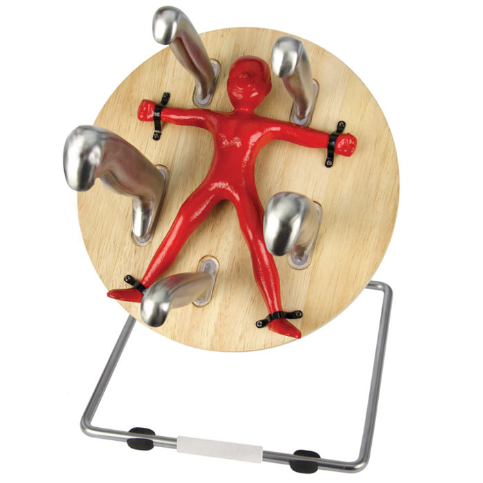 Throwzini S Knife Block Spinning Wheel Of For Cutlery