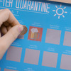 100 Things to Do After Quarantine - Scratch Off Bucket List Poster