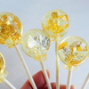 24 Carat Gold and Edible Silver Lollipops