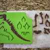 3D T-Rex Chocolate Dinosaur Mold