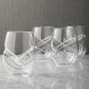 Aerating Stemless Wine Glasses