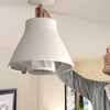 Airlight - Screw In Lighted Ceiling Fan