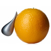 Alessi Apostrophe Orange Peeler