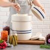 All-in-One Fermentation Crock Kit - Make Pickles, Sauerkraut, and More
