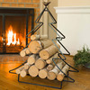 Alpine Tree Log Storage Rack
