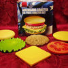 Hamburger Coaster Set - Each Piece an Individual Coaster