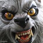 An American Werewolf in London Life-Size Werewolf Puppy Statue