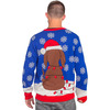 Animated Flappy Dog Ears Ugly Christmas Sweater