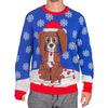 Animated Flappy Dog Ears Ugly Christmas Sweater