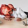 Arby's Deep Fried Turkey Pillow / Sleep Mask