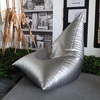 Aviator - Metallic Leather Bag Chair