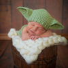 Baby Yoda Knitted Baby Hat