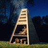 Bad Idea Pyro Tower - Wood Burning Fire Pit / Charcoal Grill / Chiminea