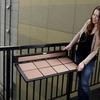 Balcony Railing Folding Table / Work Desk