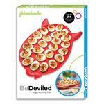 BeDeviled - Deviled Egg Serving Tray with Devil Horns and a Pointy Tail