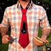 Bev Tie - Hands Free Beer Holding Necktie