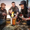 BioLite CampStove - Burns Wood to Cook Dinner and Charge Gadgets