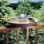 Bird Bath Solar Water Wiggler - Attracts Birds and Prevents Mosquitoes