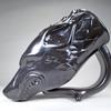 Black Wolf Drinking Horn Mug