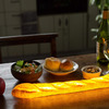 Bread Lamps - Illuminated Croissants, Baguettes, and Dinner Rolls
