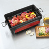 Brookstone Grill Tumbler - Roll Meat and Vegetables Across the Grill