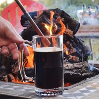 Campfire Beer Caramelizer Tool