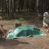 Campfire Defender Fire Cover - Extinguish or Preserve a Live Fire