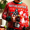 Captain Morgan Ugly Christmas Sweater
