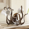 Cast Iron Octopus Tea Cup / Jewelry Holder
