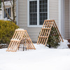 Cedar Shrub Guards - Protect From Falling Snow and Ice