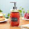 Chalk It Up Mason Jar Condiment Dispensers