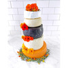 Cheese Lovers Wedding Cake - 24 Pounds of Gourmet Cheese!