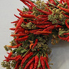 Chili Pepper Square Wreath