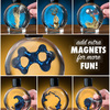 Colorful Ferrofluid Magnetic Liquid
