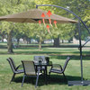Convection Cooling Cantilever Umbrella