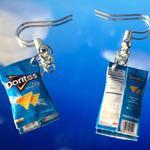 Cool Ranch Doritos Earrings