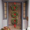 Cordless Triple Wreath Door Hang