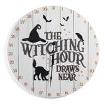 Countdown the Days to Halloween Wall Clock