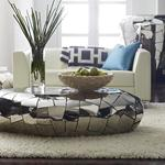 Crazy Cut Stainless Steel Coffee Table - Reflective Like a Mirror