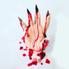 Creepy Bleeding Hand Candles