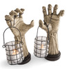 Creepy Hands With Lanterns