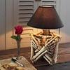 Creepy Skeleton Torso Table Lamp