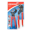 Crescent Tongue and Groove Pliers with Non-Marring Grip Zone