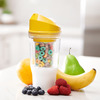 CrunchCup - Portable Cereal Cup - No Spoon Required!